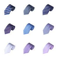 PT_ Lk _ Eg _ Uomo Moda a Righe Classico Cravatta Business Rete Abito Accessor