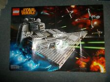 Lego Star Wars Star Destroyer Poster 75050 and 75055 Good Condition