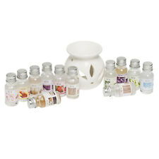 Oil Diffuser Burner Gift Set with 12 Month Supply of Natural Oil Fragrance Scent