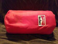 Marlboro UNLIMITED Sleeping Bag Adventure Team   Plaid Fleece Vintage NEW