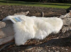 Australian Premium Large Sheepskin Rug Pelt White Lambskin 120CM