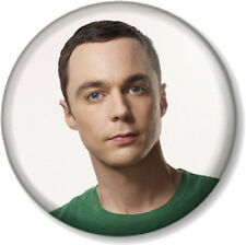 "Sheldon Cooper 25mm 1"" Pin Button Badge Big Bang Theory Jim Parsons Comedy Geek"