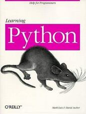 Learning Python [Help for Programmers]