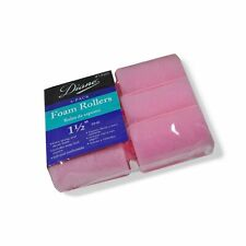 "Diane Foam Rollers, Pink, 1.5"", 6/bag 1 1/2 inches"