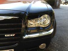 Chrysler 300 C Scheinwerferblenden böser Blick evil look eyelids madeyes Cover