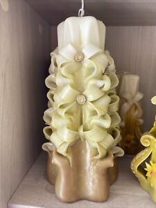 Hand Carved Decorative Sculptured Candle