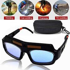 LEATBUY Welding Glasses Mask Helmet Eyes Goggles Solar Auto Darkening Welding...