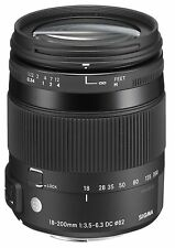 Sigma 18-200mm f/3.5-6.3 II DC OS HSM Lens for Sony Alpha Digital SLR Cameras