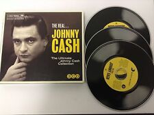 The Real Johnny Cash 3 CD SET SONY COLUMBIA