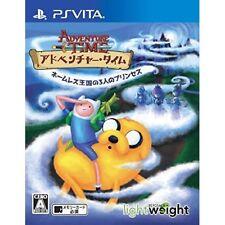 Used Ps Vita Adventure Time name-less Kingdom of three Princess Import Japan