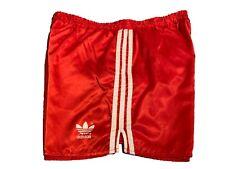 Adidas vintage Sprinter Shorts Gr. 8 L Sporthose 90s shiny Running rot FS4