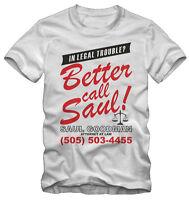 T-shirt /Maglietta Breaking Bad Better call Saul Saul Goodman Serie TV