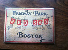 Boston Red Sox Fenway Park magnet old style fridge magnet