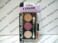 La Colors 3 Color Eyeshadow Palette #625 Water Lily
