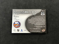 2018-19 UPPER DECK THE CUP ANDERS LEE SCRIPTED SWATCHES AUTO PATCH #ed 34/35