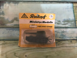 Voiture Miniature Roskopf Tank Char au 1/87 Made in West Germany