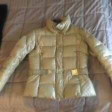 Women's Winter Jacket Gold Color Size Small Denim Art
