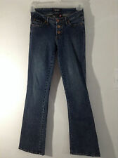 "Button Fly SIZE 3 X 31""  RAMPAGE CLOTHING COMPANY Womens Jeans Medium Blue Wash"