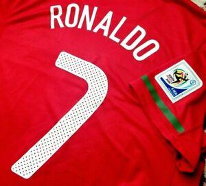 Jersey portugal Cristiano Ronaldo nike 2010 (L) soccer WC2010 CR7