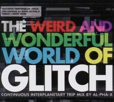 THE WEIRD AND WONDERFUL WORLD OF GLITCH Mix by Al-Pha-X (NEW) CD Jon Hopkins