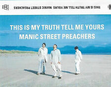 MANIC STREET PREACHERS THIS IS MY TRUTH TELL ME YOURS CASSETTE WHITE PLASTIC