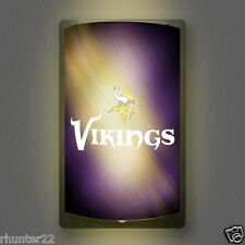 Minnesota Vikings NFL Licensed MotiGlow™ Light Up Sign - Free USA shipping!