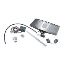 2005-2013 Corvette Electric Powered Retractable License Plate Frame w/ Key Fobs