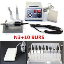 Dentale Marathon Micromotore 35K RPM Lucidatrice Straight+Contra manipolo+10*bur