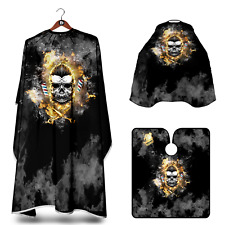 SKULL BARBERS GOWN HAIR CUT/CUTTING HAIRDRESSING HAIRDRESSERS SALON CAPE