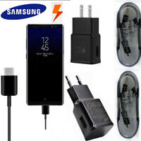 Genuine Samsung Galaxy S9+ S8 Plus Note8 Adaptive Fast Wall Charger Type-C Cable