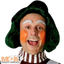 Oompa Loompa Wig Adults Fancy Dress Chocolate Factory Book Day Costume Accessory
