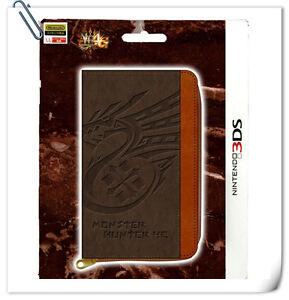 3DS Nintendo Monster Hunter X 4G 3DS Game Card Case Japan