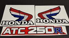 1985 HONDA ATC 250R DECALS GRAPHICS STICKER  ATC250R 85 FITS 86 1986 3 WHEELER