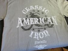AMERICAN CLASSIC IRON Harley Davidson Motorcycles STYLE Mens KIDS Small T-Shirt