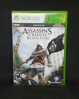 Assassin's Creed IV: Black Flag (Microsoft Xbox 360, 2013) TESTED - CIB - 2 DISC