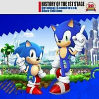 Sonic the Hedgehog CD OST History of The 1st Stage Blue Edition Soundtrack Japan