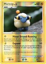 Mareep Reverse Holo Common Pokemon Card Pt1 Platinum 82/127