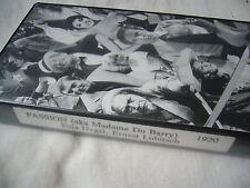 PASSION 1920 aka MADAME DU BARRY Pola Negri ERNST LUBITSCH NTSC VHS SMALL BOX