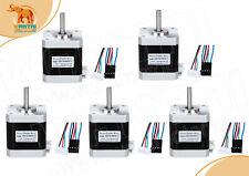 consegna gratuita Wantai 5 pezzi  nema 17 con 1.7A 0.4N. (56oz-in) cnc router