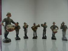 Lineol Elastolin 2 WK 2.WW Soldaten Musiker Figur Musikkapelle Deutsches Reich
