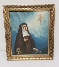 Saint Teresa of Avila Oil Painting Catholic Carmelite Nun by Antonio Richkarday