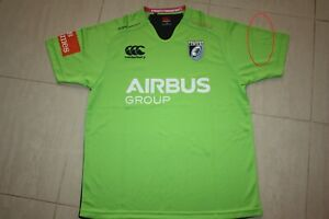 Cardiff Blues Going Green Adult Men's Jersey, defects
