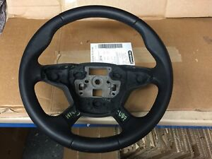 Ford Focus Leather Steering Wheel Mk3 In Excellent Condition