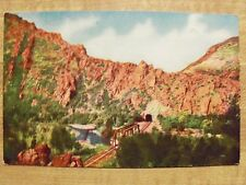 c.1908 Postcard Tunnel No 3 Weber Canon Utah. Unused Antique Postcard PC. UT.