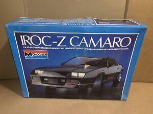 Vintage Monogram Iroc-Z Camaro 1/8 Scale Model Kit New