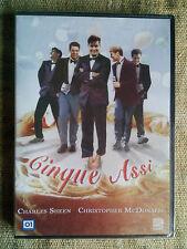 Cinque assi - con Charles Sheen, Christopher McDonald DVD NUOVO SIGILLATO