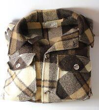 Orvis Fishing Tackle Men's Medium Plaid Button Down Vintage Jacket