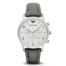 ** NEW **Emporio Armani® watch AR1861 - Mens , BETA , Silver Chronograph