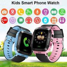 Children Kids GPS Smart Watch Anti-lost Safe Locator Tracker SOS Call Waterproof