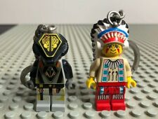 Lego Minifig Head Dual Sided Alien Black Eye Head  #42